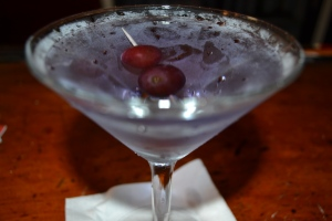 Grape Cosmo from Saltsman's by bartender Nunzio