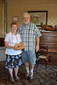 Owners of Saltsman's Tammy and Jim